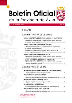Boletín Oficial de la Provincia del martes, 10 de enero de 2017
