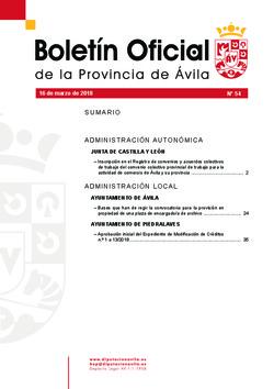 Boletí Oficial de la Provincia del 16-03-2018