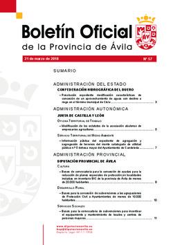 Boletí Oficial de la Provincia del 21-03-2018