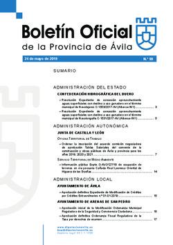 Boletí Oficial de la Provincia del 24-05-2019