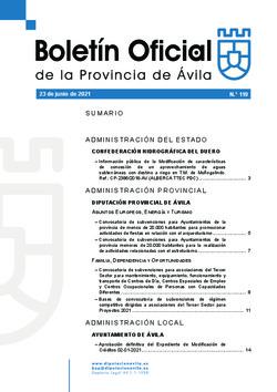 Boletín Oficial de la Provincia del miércoles, 23 de junio de 2021