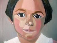 Exposición de Pintura, Retratos de Rosa Rosado