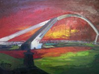 Exposición de Pintura de Mariví Romero Huescar