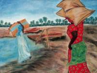 Exposición de Pintura de Reclusas de Brieva