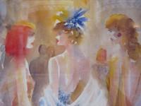 Exposición de Pintura de 20 Pintores unidos por la acuarela, II bienal itinerante
