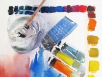 Exposición de Pintura de 20 pintores unidos por la acuarela