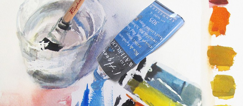 Autor: 20 pintores unidos por la acuarela