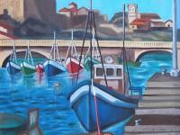 Exposición de pintura de Antonia España Cano