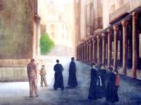 Exposición de pintura de Dori Zúñiga
