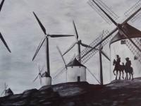 Exposición de pintura y escultura de La Carpa, creadores de Getafe