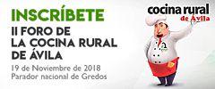 II Foro de la Cocina Rural de Ávila