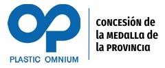 Medalla de la provincia a la empresa Plastic Ommnium