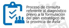 Proceso de consulta - Plan estratégico de la provincia de Ávila