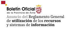 Anuncio BOP aprobación inicial R.G. Utilización de recursos y sistemas de información