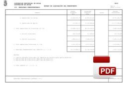 Resultado presupuestario liquidación 2017
