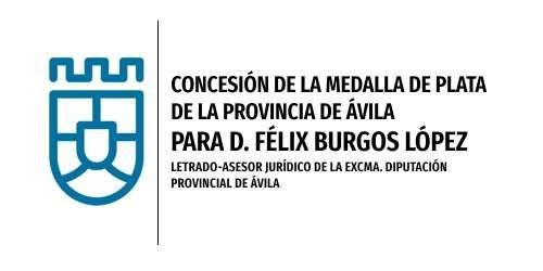 Medalla de Plata de la Provincia a D. Félix Burgos López