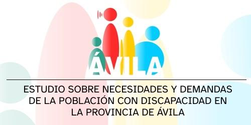 Estudio sobre las necesidades y demandas de la población con discapacidad en la provincia de Ávila