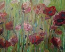 Exposición de pintura de Ana Regina Méndez