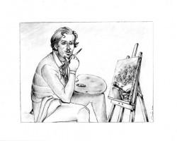 Exposición de dibujos de Ignacio del Río Chicote