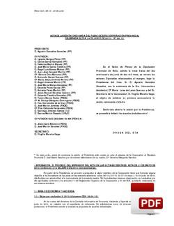 Pleno 8/2013 del lunes, 24 de junio de 2013