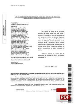 Pleno 8/2015 del lunes, 22 de junio de 2015