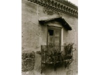 Casa del siglo XVI, balcón