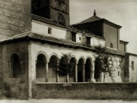 San Martín, el atrio