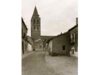 Calle del Tostado, al fondo la Iglesia