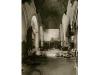La iglesia, interior