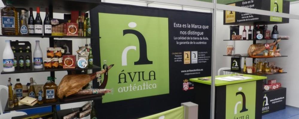 La Diputación lleva los productos de calidad de la provincia a una docena de ferias y mercados locales a través de Ávila Auténtica