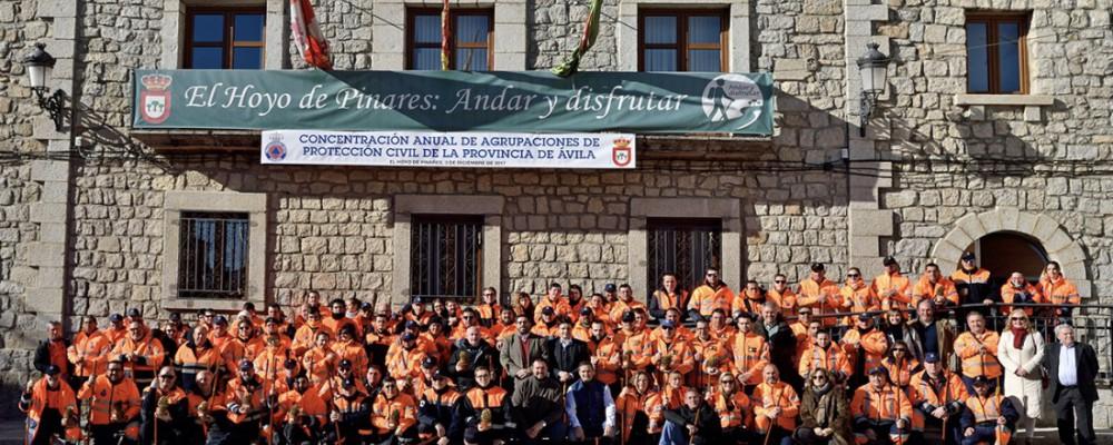El presidente de la Diputación señala que las agrupaciones de voluntarios de Protección Civil son un