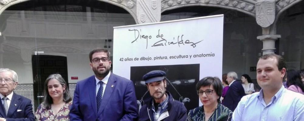 La Diputación de Ávila reconoce la trayectoria de Diego de Giráldez con un homenaje y una exposición