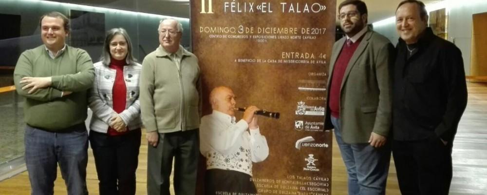 Cinco grupos de Ávila, Segovia y Madrid participan en el II Certamen de dulzaina 'El Talao', que registra aforo completo