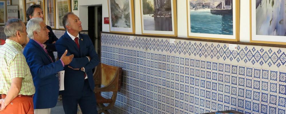 La Diputación de Ávila rinde homenaje a la acuarela con una exposición colectiva