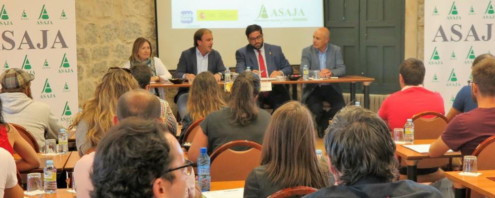 El presidente de la Diputación defiende la agricultura y la ganadería como sector fundamental para la provincia