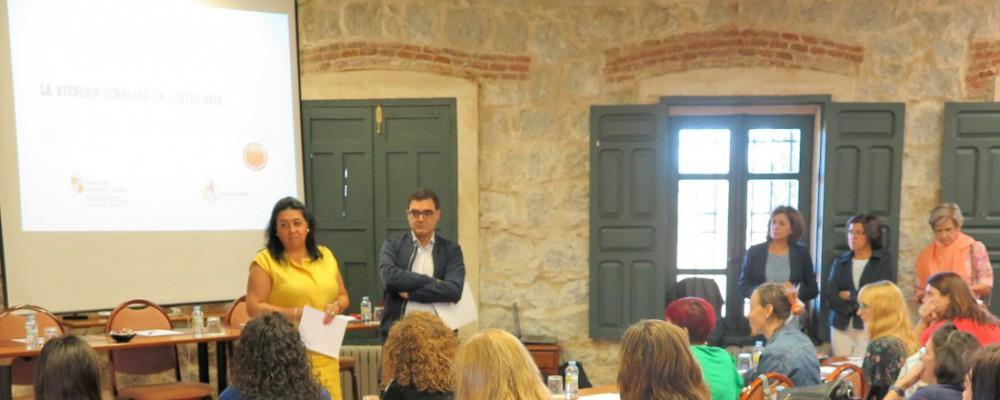 La Diputación de Ávila desarrolla una jornada de formación para técnicos del Programa Crecemos