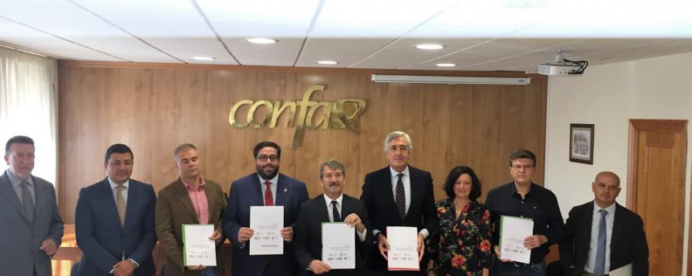 Diputación, Ayuntamiento patronal y sindicatos se unen para crear el Plan Industrial 'Ávila 2020. Estrategia para la industria y el empleo'