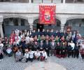 Foto de El presidente de la Diputación recibe a una delegación de la Casa de Ávila en Valladolid