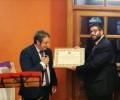 Foto de El presidente de la Diputación Provincial recibe el nombramiento de Socio de Honor de la Casa de Ávila en Valladolid