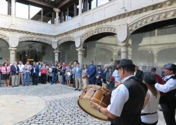 La Diputación de Ávila reconoce la trayectoria de Diego de Giráldez con un homenaje y una exposición (2º Fotografía)