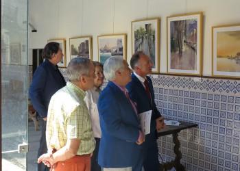La Diputación de Ávila rinde homenaje a la acuarela con una exposición colectiva (2º Fotografía)