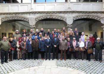 La Asociación de la tercera edad Santísima Trinidad visita la Diputación de Ávila (2º Fotografía)
