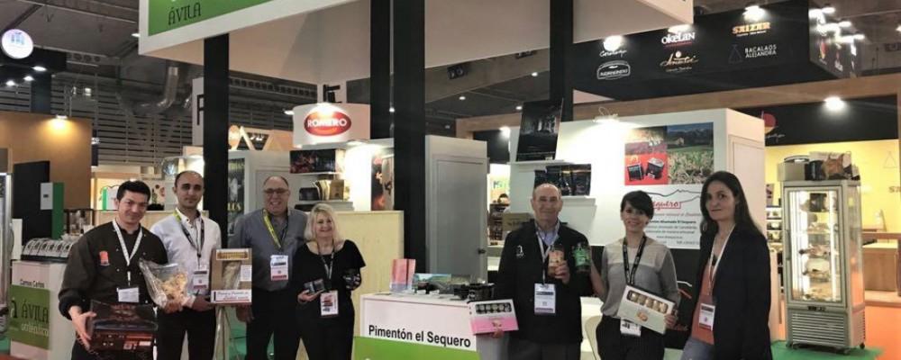 Ávila Auténtica realiza un balance positivo de Alimentaria como plataforma internacional para realizar contactos empresariales