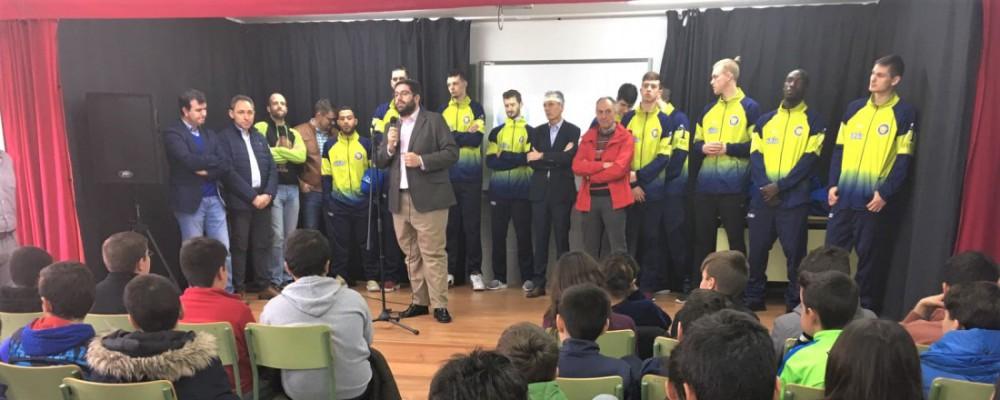 La Diputación Provincial hace llegar los valores del deporte a los escolares de Sotillo de la Adrada a través del Ávila Auténtica