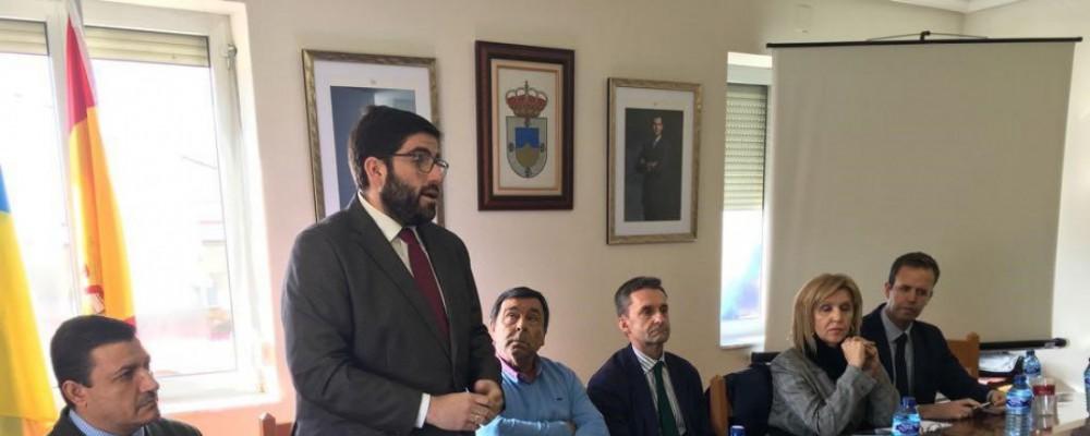 La Diputación y la Confederación Hidrográfica del Duero informan a los regantes de La Moraña de la situación de la cuenca