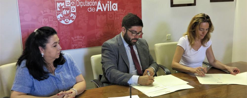 La Diputación de Ávila aumenta su ayuda al Centro Cultural de Personas Sordas para contar con un intérprete de lengua de signos