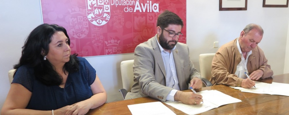 La Diputación de Ávila firma un convenio con la Federación de Jubilados para promover el envejecimiento activo en la provincia