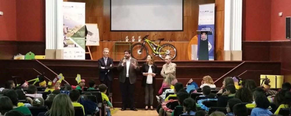 Colegios de Ávila, Cebreros y Santa María del Tiétar se llevan los premios del Concurso Enerjuegos de la Diputación Provincial