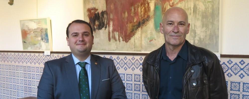 La Diputación de Ávila expone las emociones abstractas de Martín Viveros
