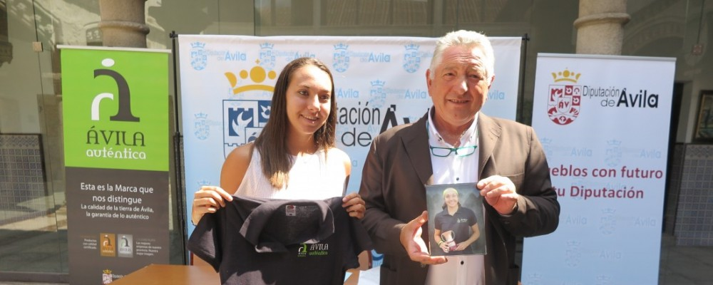 La Diputación de Ávila suscribe un patrocinio deportivo con la tenista abulense Paula Arias